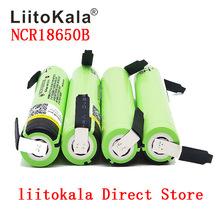 2019 Liitokala 100 nowy oryginał NCR18650B 3 7 v 3400 mah 18650 akumulator litowy diy nikiel czy doliczone zostaną dodatkowe opłaty baterie tanie tanio 3001-3500 mAh Li-ion Baterie Tylko 1-10 18*65mm Japan 4 35V 2 75V Latest batch