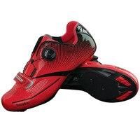 Novos sapatos de ciclismo de estrada homem pro desgastar-oposição microfibra respirável sapatos de bicicleta atlético auto-bloqueio sapatos de bicicleta chaussure