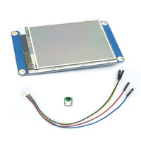 English Version Nextion 2 8 HMI LCD Display Module TFT Touch Panel For Arduino Raspberry Pi