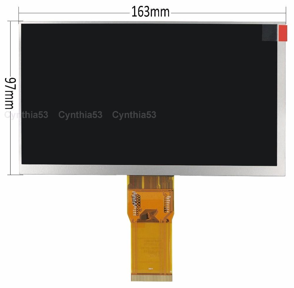 free shipping original new Yaran Shi 7300101463 E231732 7300130906 CN070 flat screen LCD screen 163*97 164*100 165*103 free shipping original 9 inch lcd screen cable numbers kr090lb3s 1030300647 40pin