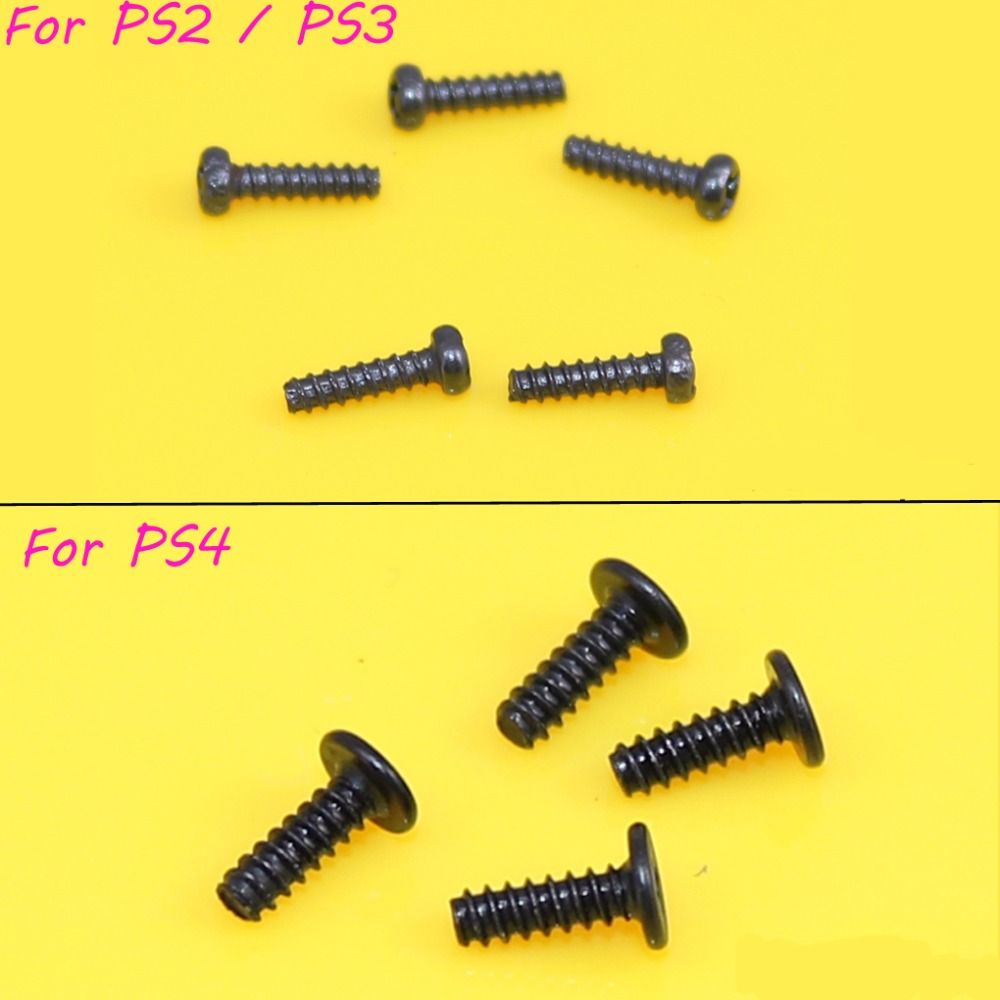 2000pcs/lot Head Screws Replacement For Play Station PS2 PS3 PS4 Gamepad Repair