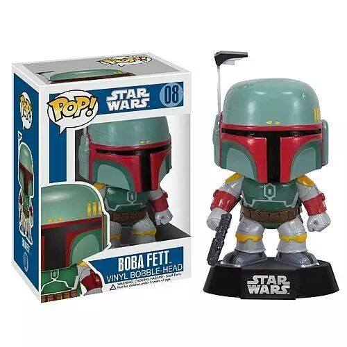 Funko POP! Star Wars Boba Fett #08 PVC Action Figure Collectible Model Toy 12cm FKFG126 Retail Box SP050  funko pop marvel batman 84 pvc action figure collectible model toy 12cm kt2370