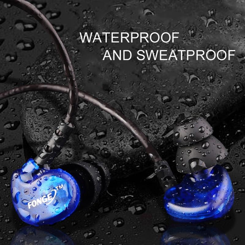 FONGE S500 суға төзімді құлаққаптар - Портативті аудио және бейне - фото 3