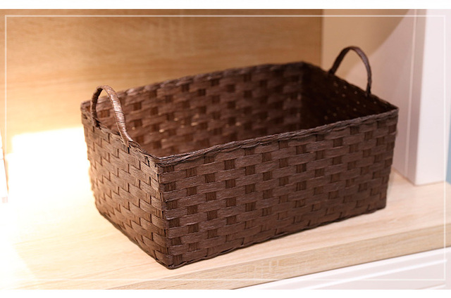 Delicieux Multifunctional Cutlery Paper Rope Basket Toy Box Desktop Home Storage  Baskets