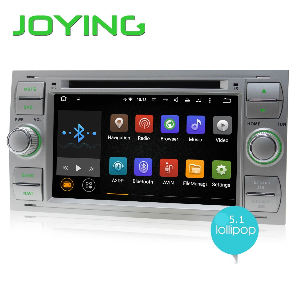JOYING Quad Core Double 2 Din font b Android b font 5 1 Car Stereo Audio