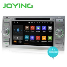 JOYING Quad Core Doble 2 Din Android 5.1 Car Stereo Audio DVD de Navegación GPS Para Ford Fusion Kuga Focus con 3G Radio Autoradio
