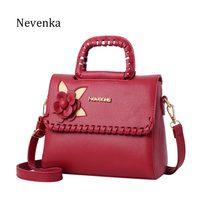 Nevenka Fashion Women Bag Fresh Ladies Handbags Casual Crossbody Flap PU Messenger Bags Dress Evening Bag Teenagers College Sac