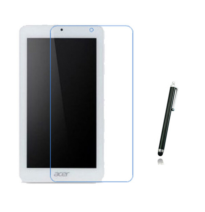 """New Matte Anti-Glare Screen Protector Films Matted Protective Film Guards For Acer Iconia One 7 B1-770 7"""" Tablet + Stylus Pen"""