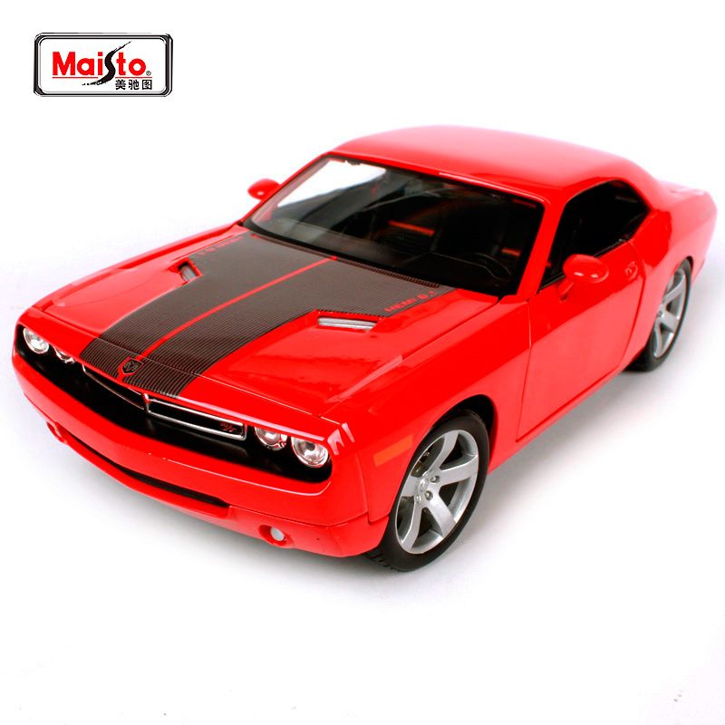 Maisto 1:18 2006 DODGE CHRLLENGER Concept Sports Car Diecast Model Car Toy New In Box Free Shipping 36138 maisto 1 18 mini cooper sun roof diecast model car toy new in box free shipping 31656