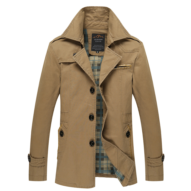 Online Shop Hot Sale Men's jacket Causal Long Warm Jackets Mens ...