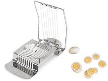 New Arrival 1Pcs Stainless Steel Boiled Egg Slicer Section Cutter Mushroom Cutter Kitchen Novelty Tool Portable Egg Cutter