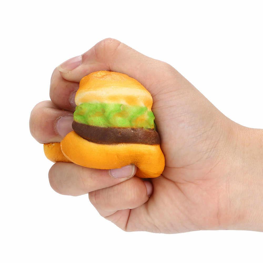 CHAMSGEND Neuheit Kinder Spielzeug Squishy Spielzeug Mini Hamburger Duftenden Squeeze Stress Reliever Anti-Stress-Spielzeug Intelligenz Spielzeug 5,8