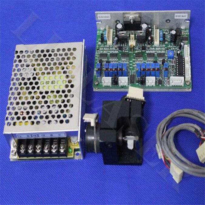 Professional 45K Scanner Galvo ILDA / Galvo Scanner With PT-itrsut For Laser Show