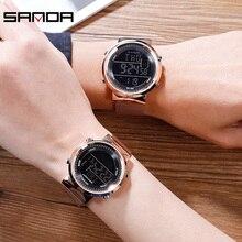 2019 New Brand Bracelet Watch Women Men Luxury Digital Dress Wrist Watches Clock Women's Fashion Casual Quartz Watch Reloj Mujer