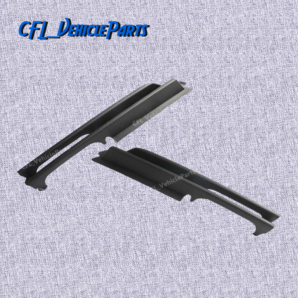 Pair L+R Bumper Lower Side Lateral Grille 51117032613 51117032614 For BMW E46 320i 330i 325xi 325i 2001 2002 2003 2004 2005