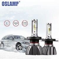 Oslamp 50W 8000LM H4 Led Headlight Bulb Hi Lo Beam CSP Chips H4 Led Bulb Head