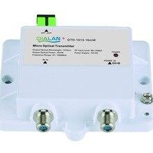 Мини микро оптический передатчик 1013-10 мВт FTTH 12 В DC 1310nm 1550nm CATV с SC APC передатчик