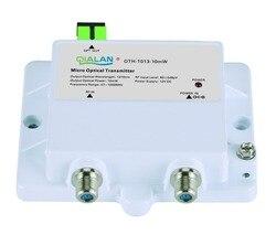 Mini Micro Transmissor Ótico 1013-10mW FTTH 12V DC Transmissor 1310nm 1550nm CATV com SC APC