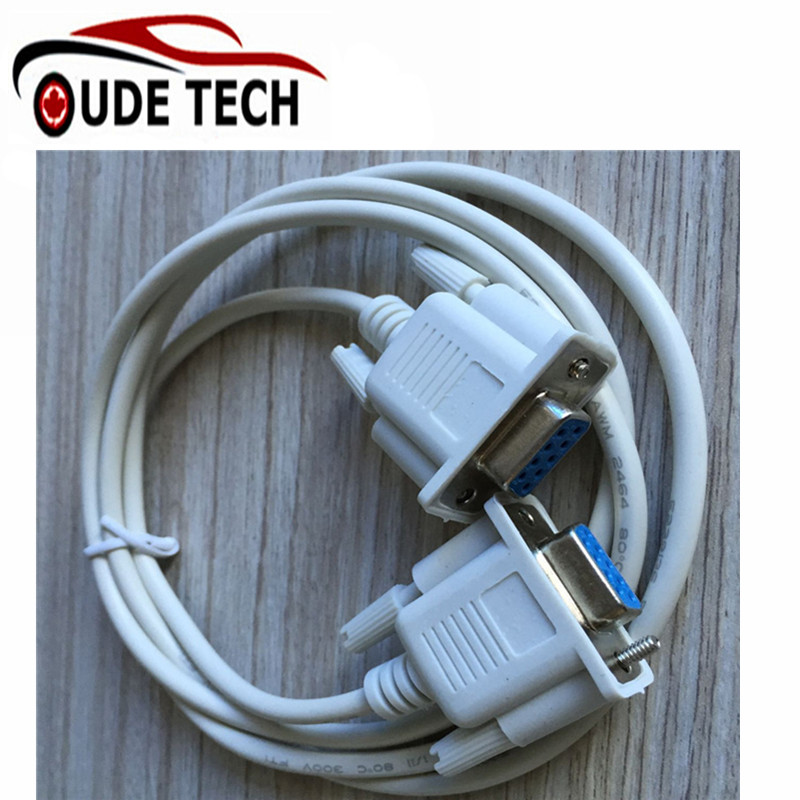 1.3m/6.6FT Null Modem Cable RS232 DB9 9Pin Serial Female to Female  Ports Adapter Converter