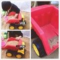 3 playa del coche modelo de camión excavadora bulldozer inercia de plástico para niños toys camión de volteo modelo de regalo de navidad kid toys