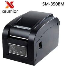 80mm прямой Термальность штрих-код стикера принтера label штрих-код этикетки принтера USB + Серийный + LAN Интерфейс SM-350BM