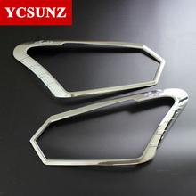 2017 2016 For Isuzu d-max Front Lights Cover For Isuzu d-max 2016 Special Decorative Parts For Isuzu Chevrolet d-max 2016 Ycsunz