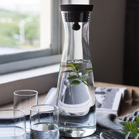 High Temperature resistant Cold Kettle Glass Kettle Ice Kettle Cold Water Bottle Creative Cold Kettle Household Cold Water