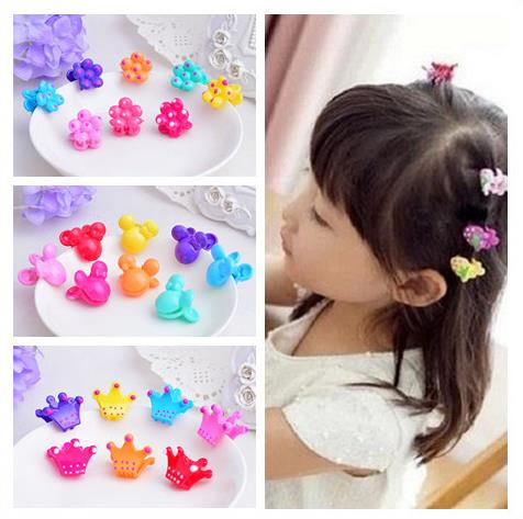 72pcs/pack New candy colors children crab claw clip cute little cartoon baby headdress hairpin gripper Girls Hair Accessories 1pcs hair clip black claw clip crystal pearl plastics for women baby party festival rhinestone hairpin 2 sizes hair accessories