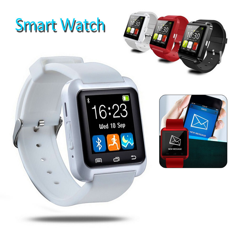 Bluetooth Smart Watch Touch Screen U8 Wrist Watches UWatch ...