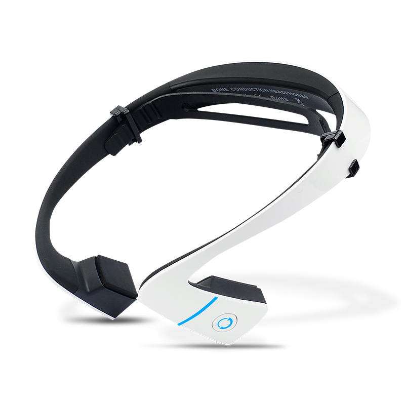 Freeship LF-18 Wireless Bluetooth Headset Waterproof Stereo Neck-strap Headphone Bone Conduction NFC Hands-free Smart Earphone