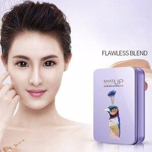 Image 5 - 7PCS Pro נשים פנים איפור מברשות סט פנים קוסמטי יופי צלליות קרן סומק מברשת כלי מברשת BIOAQUA