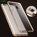 Pzoz xiaomi mi max caso de la cubierta de silicona original xiaomi max protección de lujo teléfono de concha blanda xiomi mi max 6.44