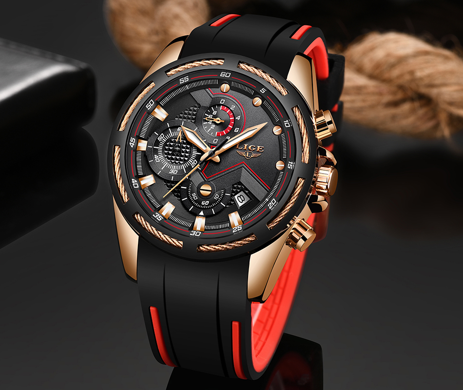 LIGE Reloj deportivo 8