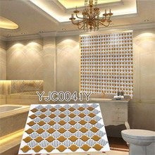 Home Kitchen Room Wall Stickers Christmas Tile Bathroom New Design Diy Remove Art 3D Tiles PET&PU
