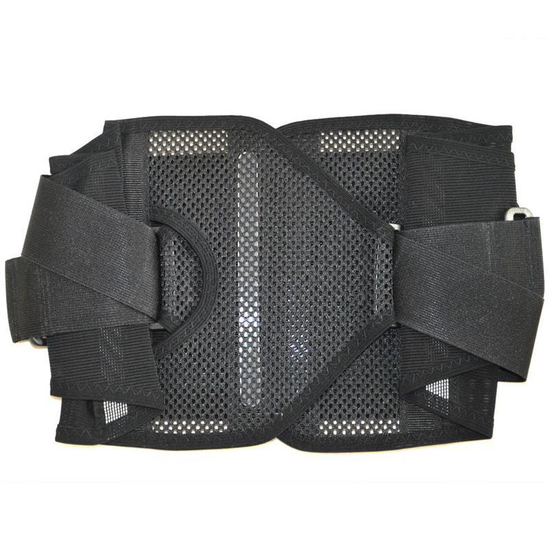 Brand New Adjustable Neoprene Mesh Lumbar Lower Back Support Brace Exercise Belt for Men & Women Waist Protector M/L/XL