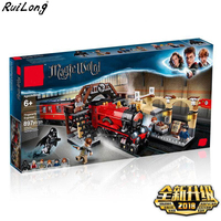 New Harry Magic Potter Hogwarts Express Train Compatible with legoingly Harry Potter 75955 Building Blocks Bricks Christmas Toys
