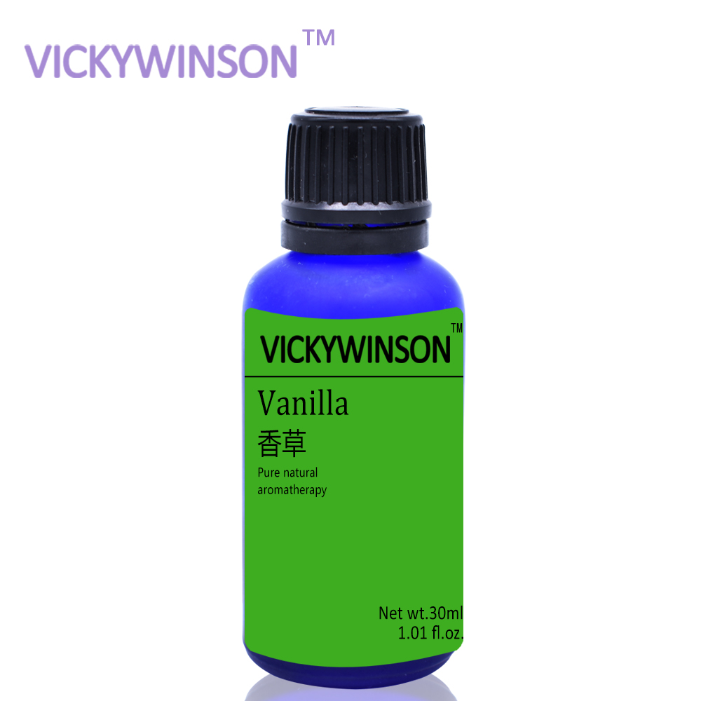 VICKYWINSON Vanilla Aromatherapy Essential Oil 30ml Fragrance Essential Oil Perfumes Flavoring In Supplement WX22