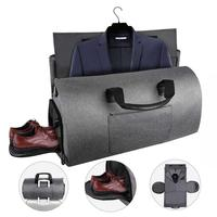 Nylon Big Large Foldable Business Travel Bag Duffle Bag Carry On Cabin Luggage Bag Organizer Weekend Duffel Suit Bag for Men