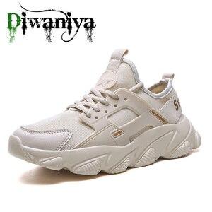 Image 3 - Diwaniya מותג באיכות גבוהה הליכה נעלי Sneaker זכר של חיצוני חדש רשת לנשימה גברים עבור רך ספורט אתלטי ריצה