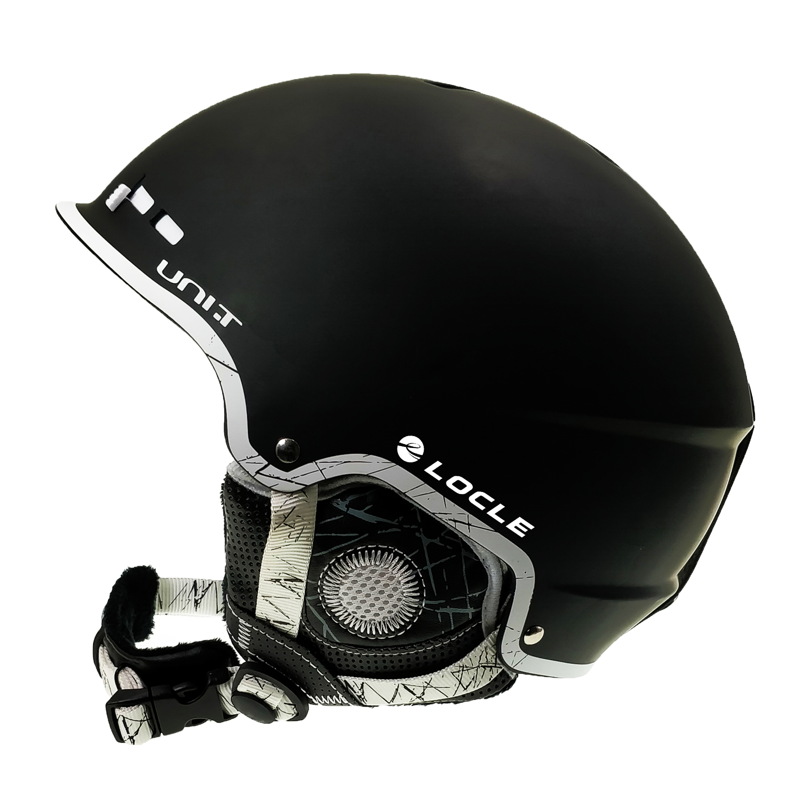 LOCLE Professional Ski Helmet CE Certification Safety Skiing Helmet Skating Skateboard Helmet Ski Snowboard Helmet 56