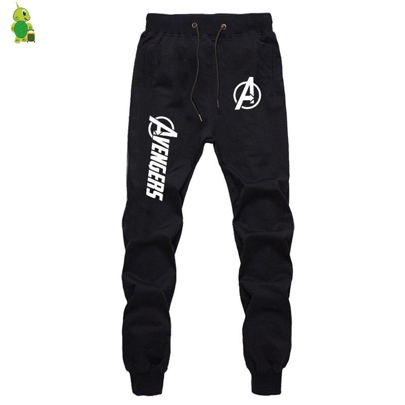 The Avengers Printed Pants Luminous Sweatpants Men Joggers Sportswear Pants Streetwear Casual Pants Fitness Pants Long Trousers 1
