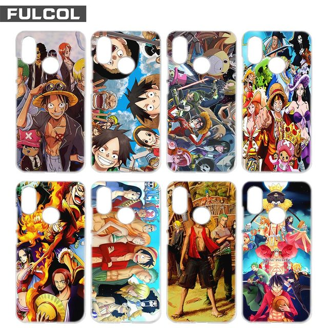 Fulcol One Piece Wallpaper Fashion Shell Case Cover Para For Xiaomi