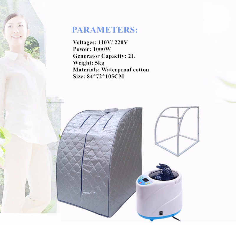 Steam Saunas For Release Fatigue Skin Beauty Sleep Aiding Lose Weight Slim Body Health Care Steaming Sauna Device  (11)