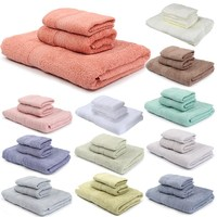 高品質3ピース100%綿スーパーソフト顔手風呂浴室タオルシートセット綿タオルセット赤ちゃん大人シャワータオ