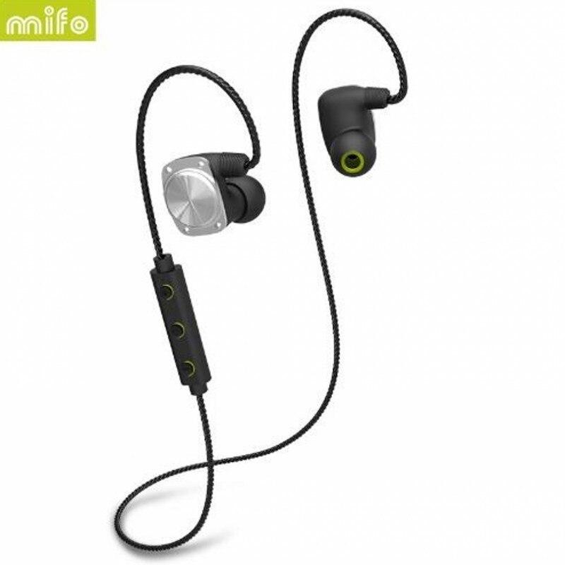 bilder für Mifo U6 Bluetooth Sport Earbuds HiFi Design IPX6 Wasserdichte Unterstützung APP Daten Aufnahme