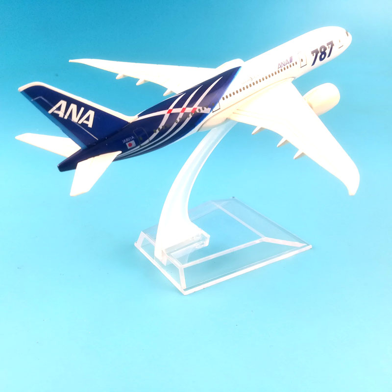 Image 2 - FREE SHIPPING 16CM  BOEING 787 ANA  METAL ALLOY MODEL PLANE AIRCRAFT MODEL  TOY AIRPLANE BIRTHDAY GIFT-in Diecasts & Toy Vehicles from Toys & Hobbies