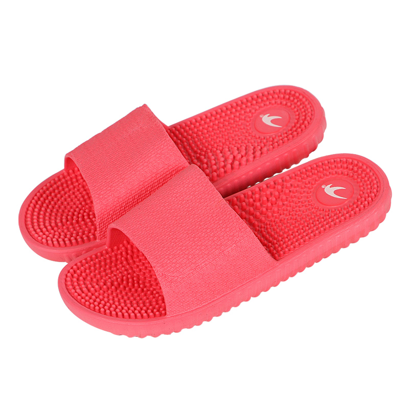 COOLSA Women's Fashion Candy Color Indoor Massage Slippers Lightweight Solid EVA Home Non-slip Massage Slippers Chinelo Feminino