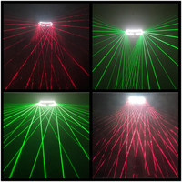 Green And Red Led Light Laser Man Glasses Christmas Halloween Laserman Show Glasses Stage Light Up Dance Wear Party Supplies