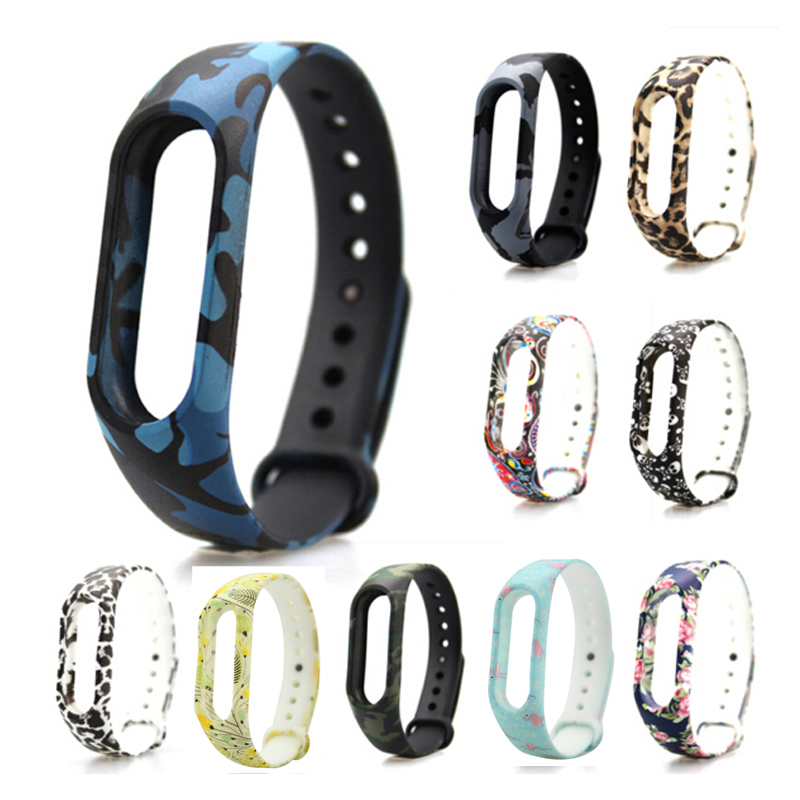 HANGRUI Colorful Xiaomi Mi Band 2 Wristband Miband 2 Strap Bracelet Strap Replacement Smart Band Accessories For Mi Band 2 Band 27