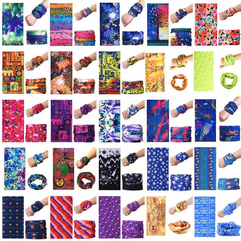 Маски для вечеринки для девочек; модное платье принцессы; Стиль с принтами повязка бандана многофункциональный бесшовные трубчатый шарф Для мужчин Для женщин аксессуары A282